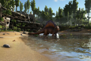 Ark Survival Evolved PvE Wild Spino