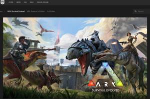 ark epic storepage