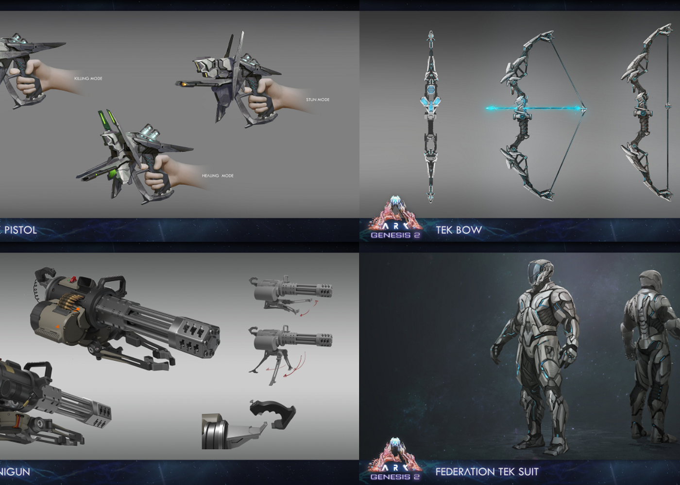 Wepons and equipment